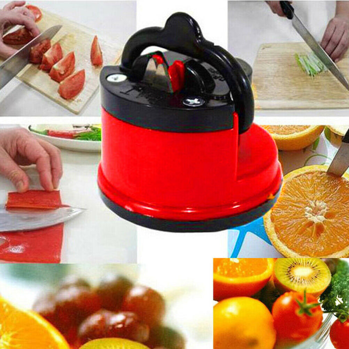 SuperSharp Suction Cup Knife Sharpener