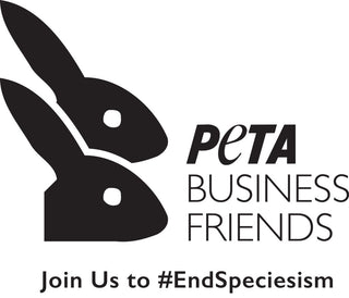Image showing the logo of Peta Business Friends. It symbolises our commitment to sustainable, cruelty-free fashion