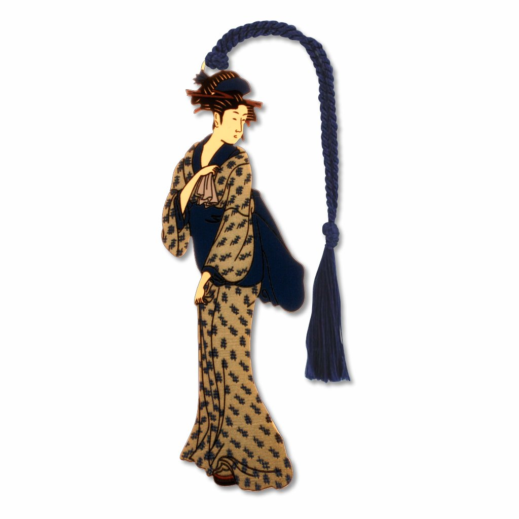 geisha-walking-bookmark-photo