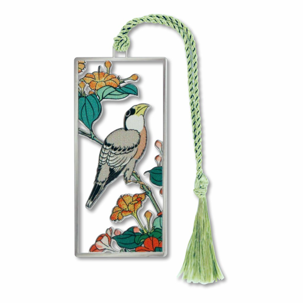 hokusai-bird-and-flower-bookmark-photo