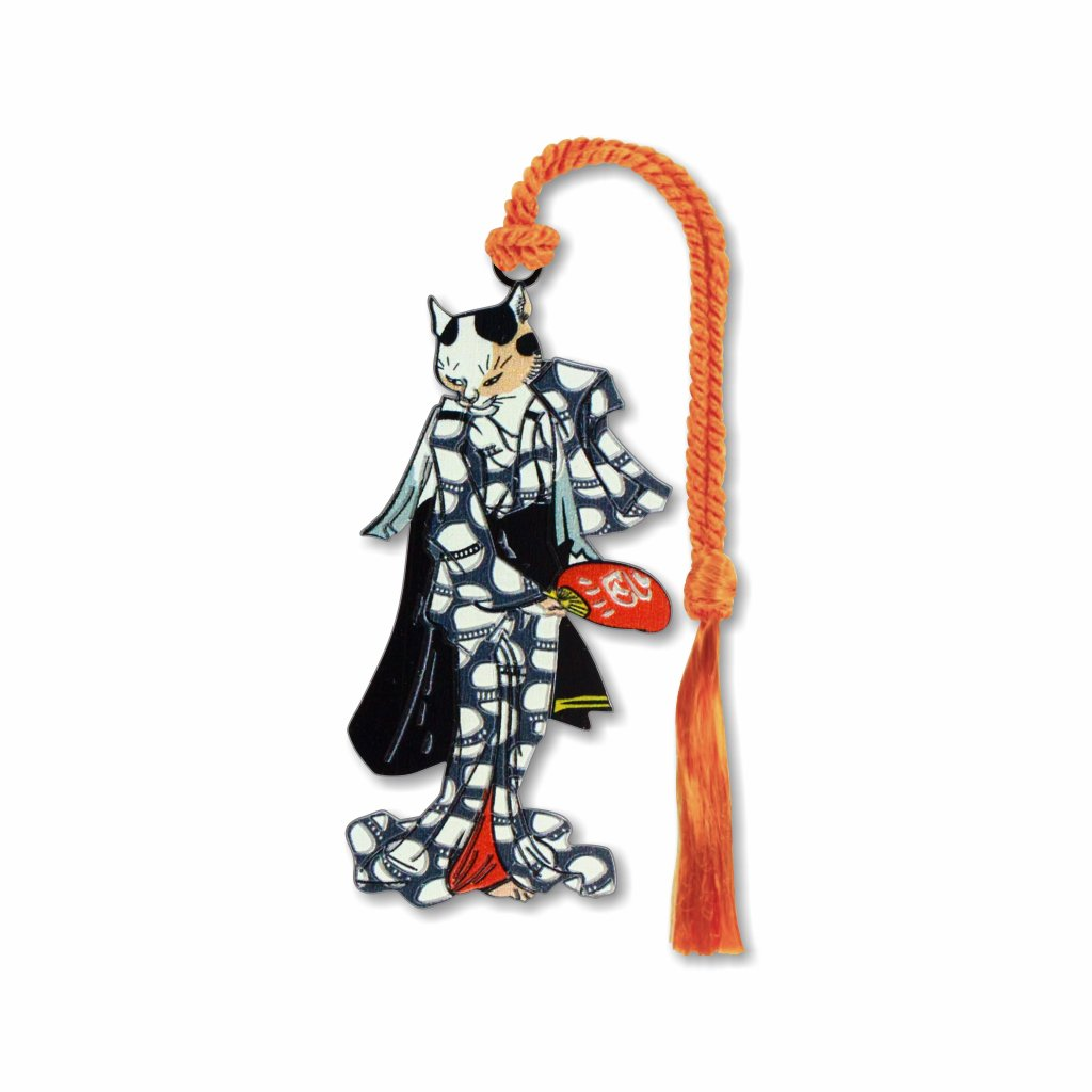 geisha-cat-bookmark-photo