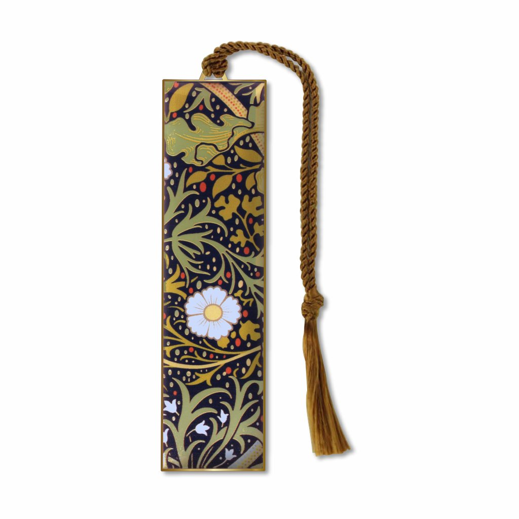 william-morris-seaweed-bookmark-photo