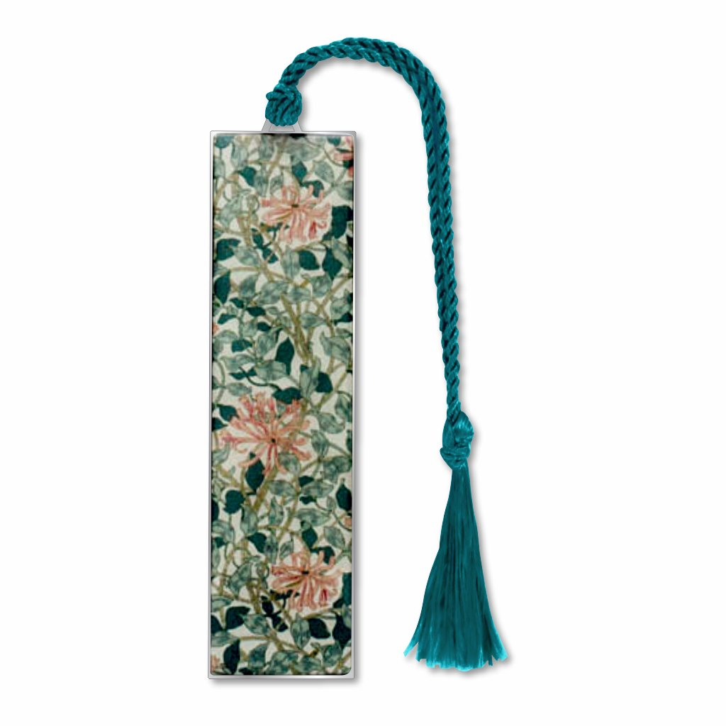william-morris-honeysuckle-bookmark-photo