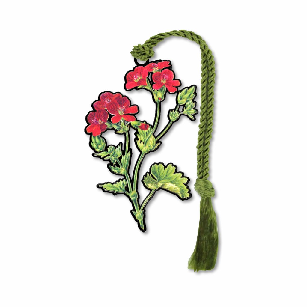 geranium-bookmark-photo