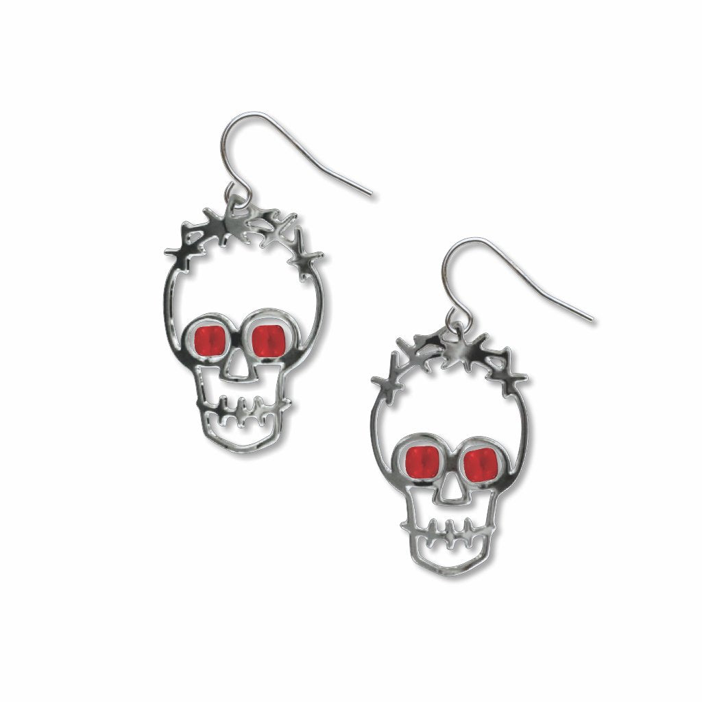 two-skulls-ruby-glass-bead-earrings-photo