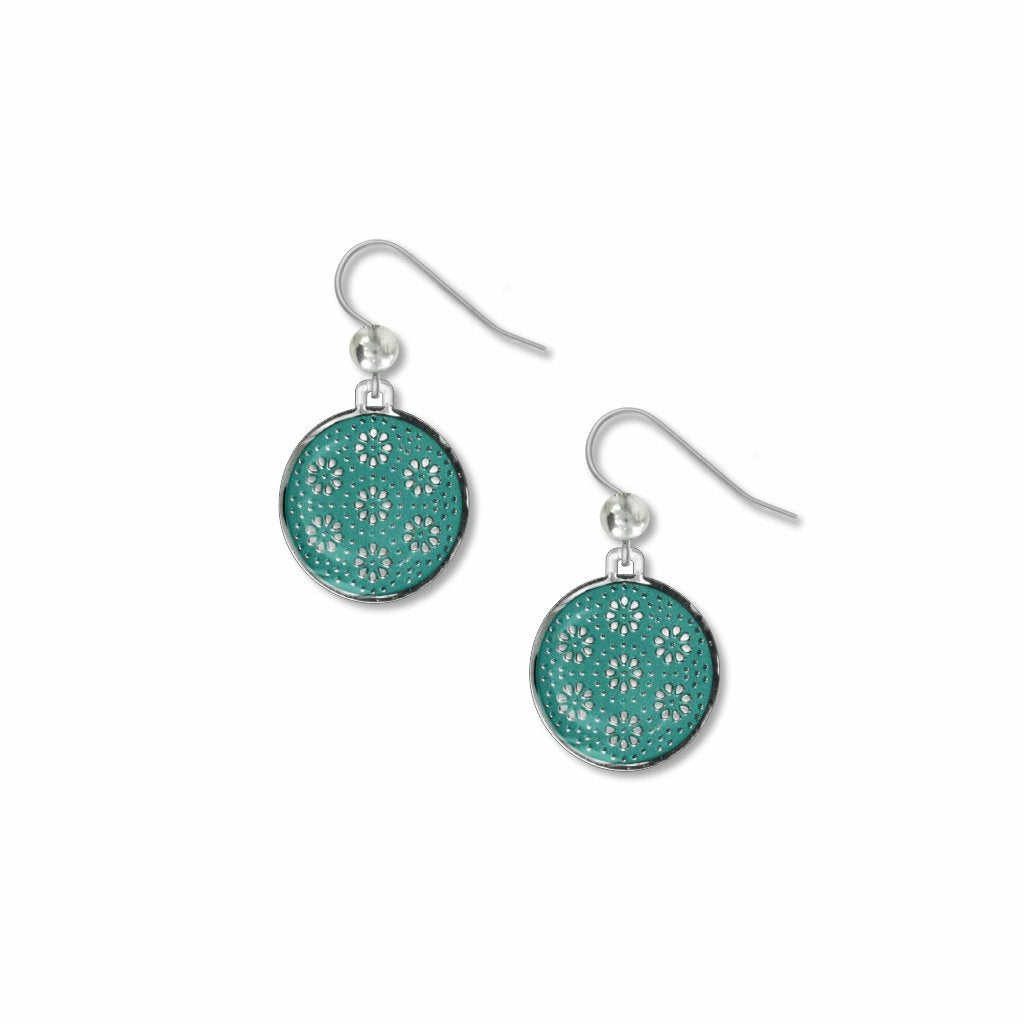 fine-time-in-teal-giclee-print-glass-bead-domed-earrings-photo