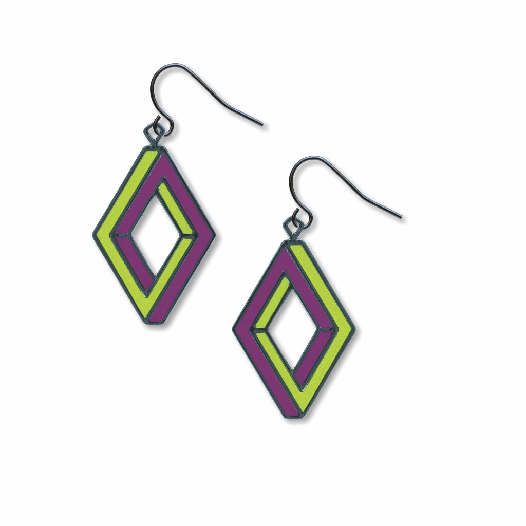 op-art-penrose-rectangle-lime-accents-giclee-print-earrings-photo