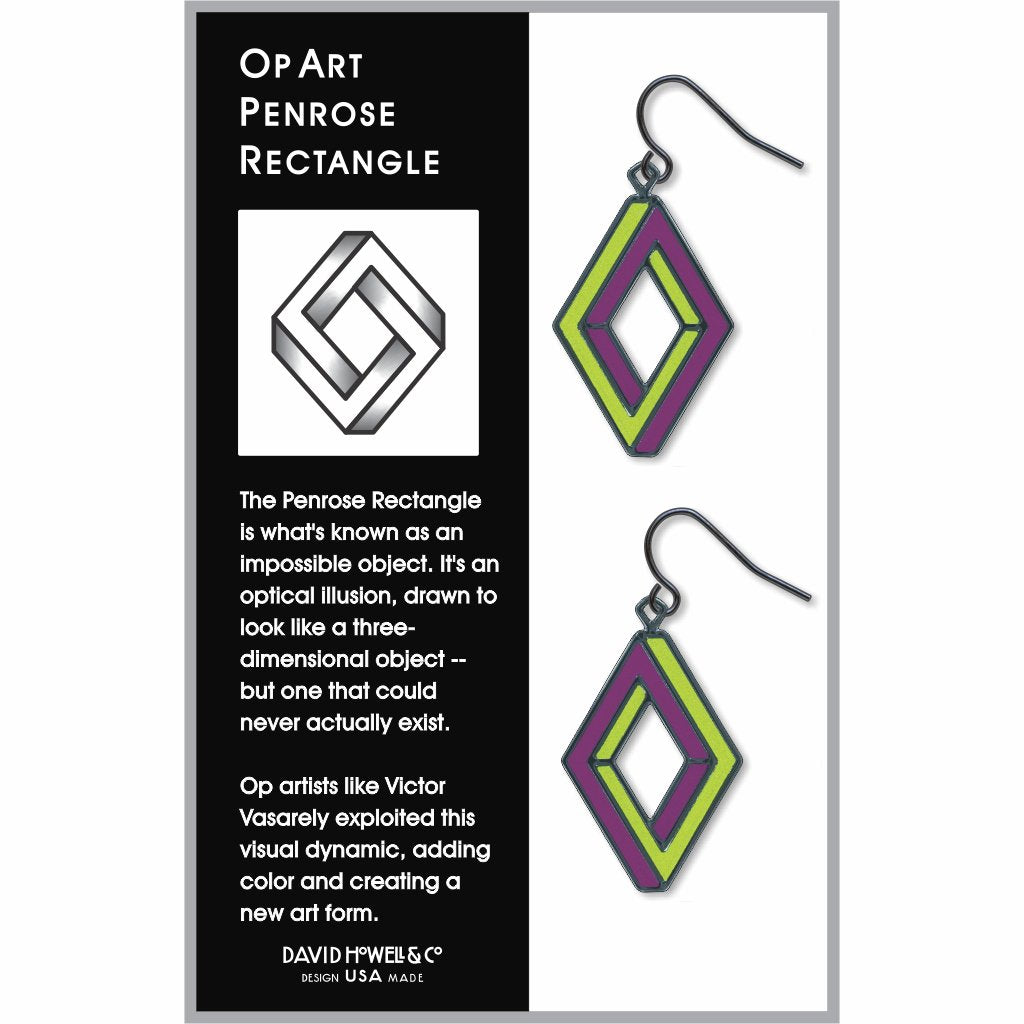 op-art-penrose-rectangle-lime-accents-giclee-print-earrings-photo-2