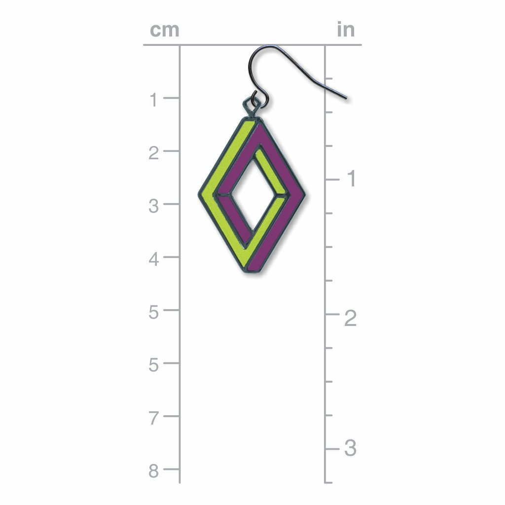 op-art-penrose-rectangle-lime-accents-giclee-print-earrings-photo-3