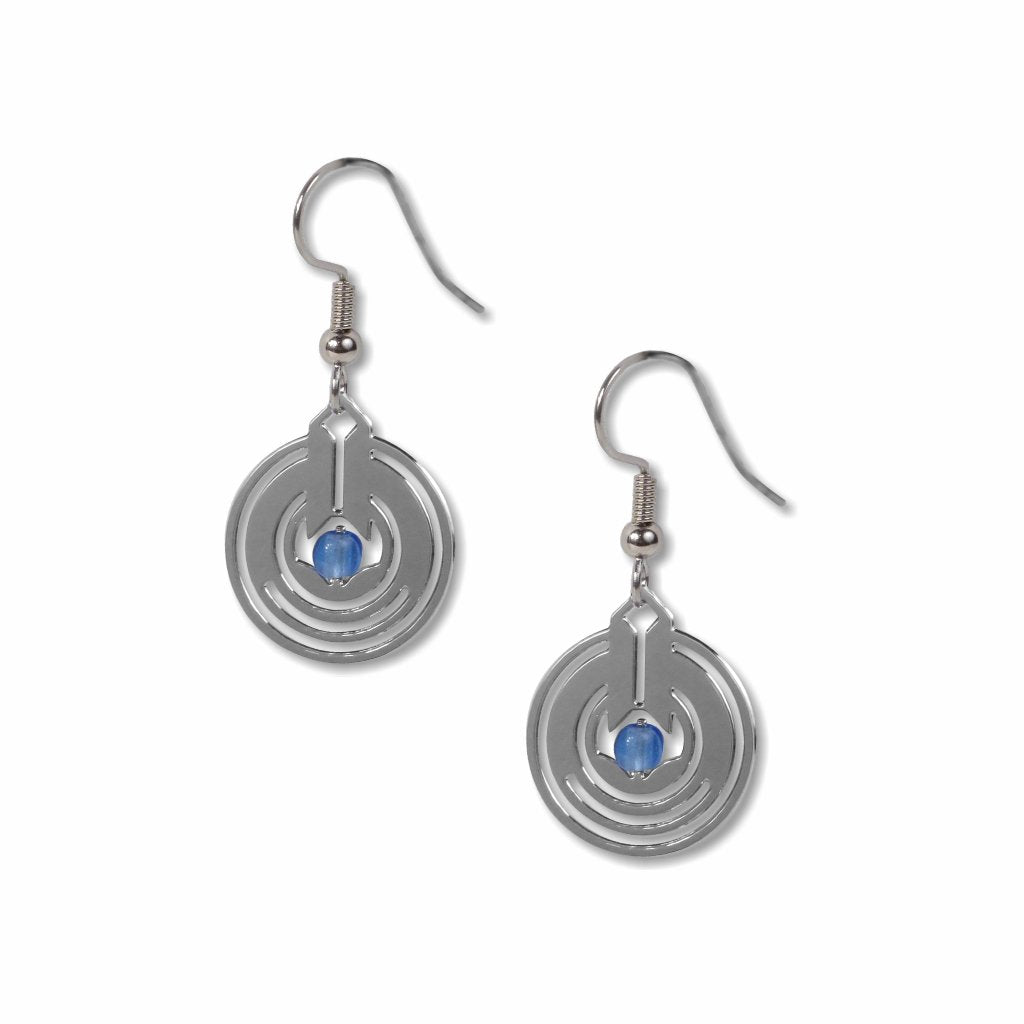 frank-lloyd-wright-april-showers-ii-blue-bead-earrings-photo