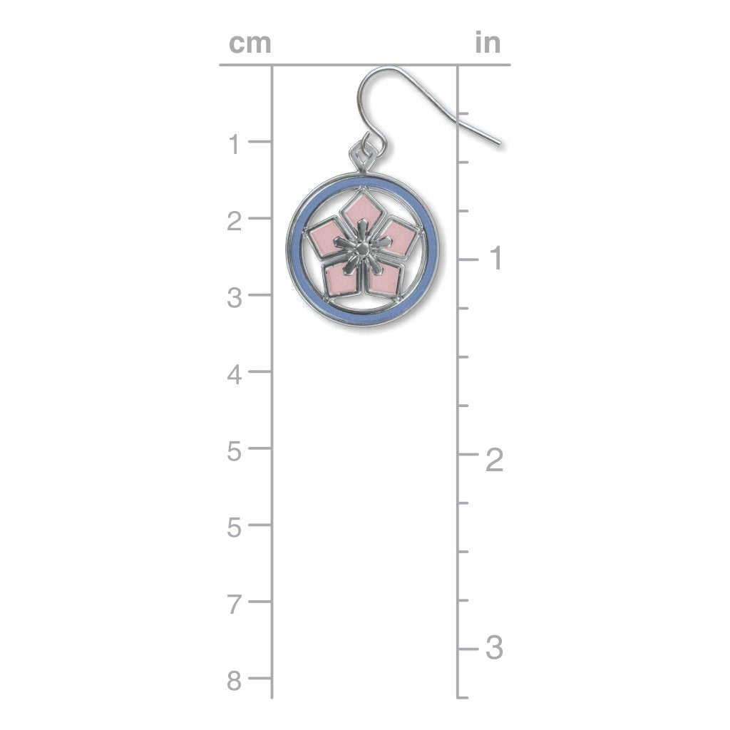 cherry-blossom-kawara-sky-blue-accents-giclee-print-earrings-photo-3