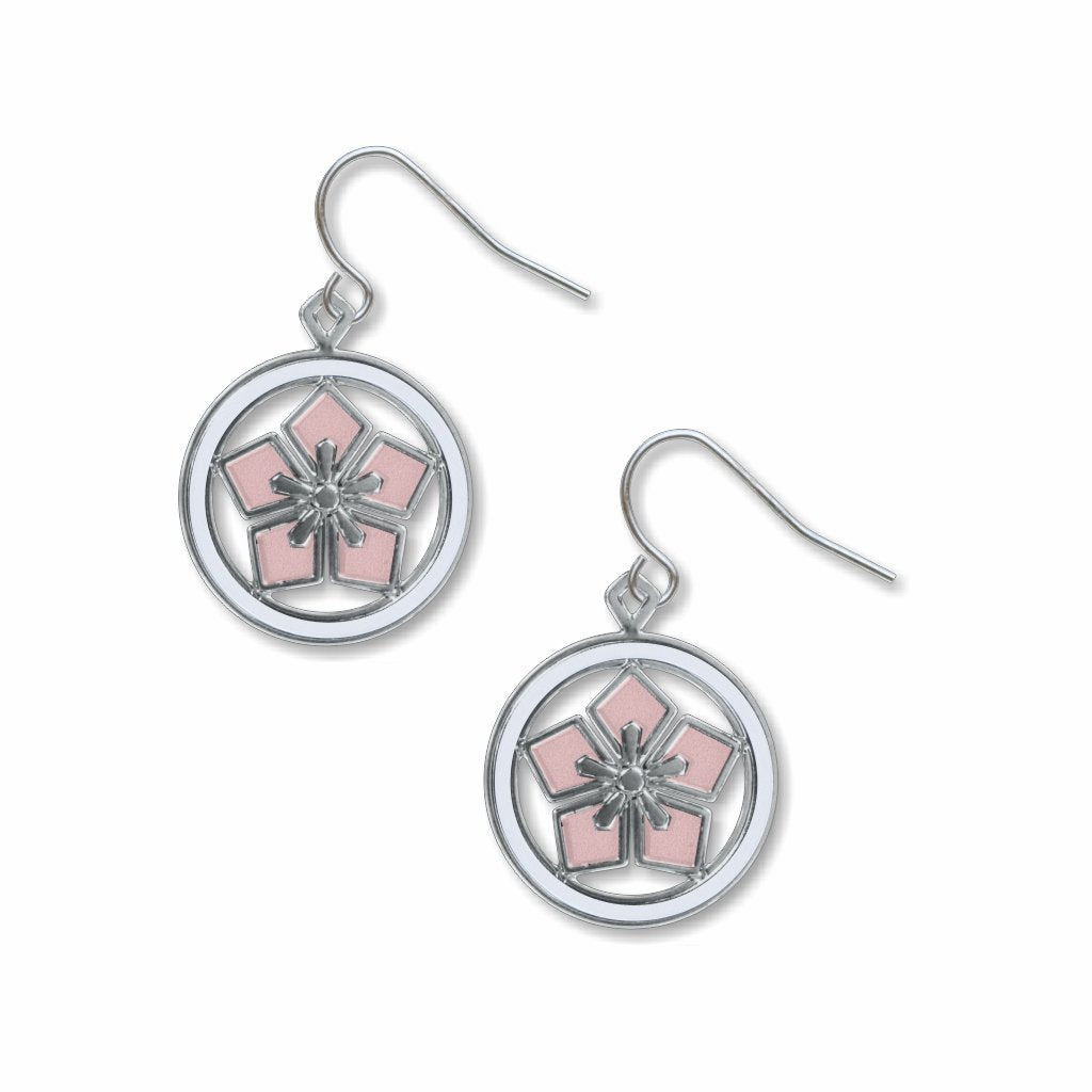 cherry-blossom-kawara--white-accents-giclee-print-earrings-photo