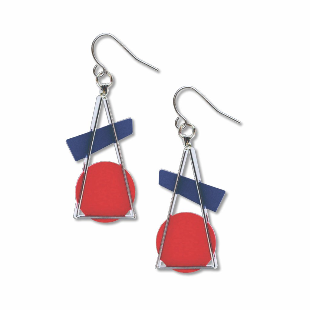 triangle-at-rest-red-earrings-photo