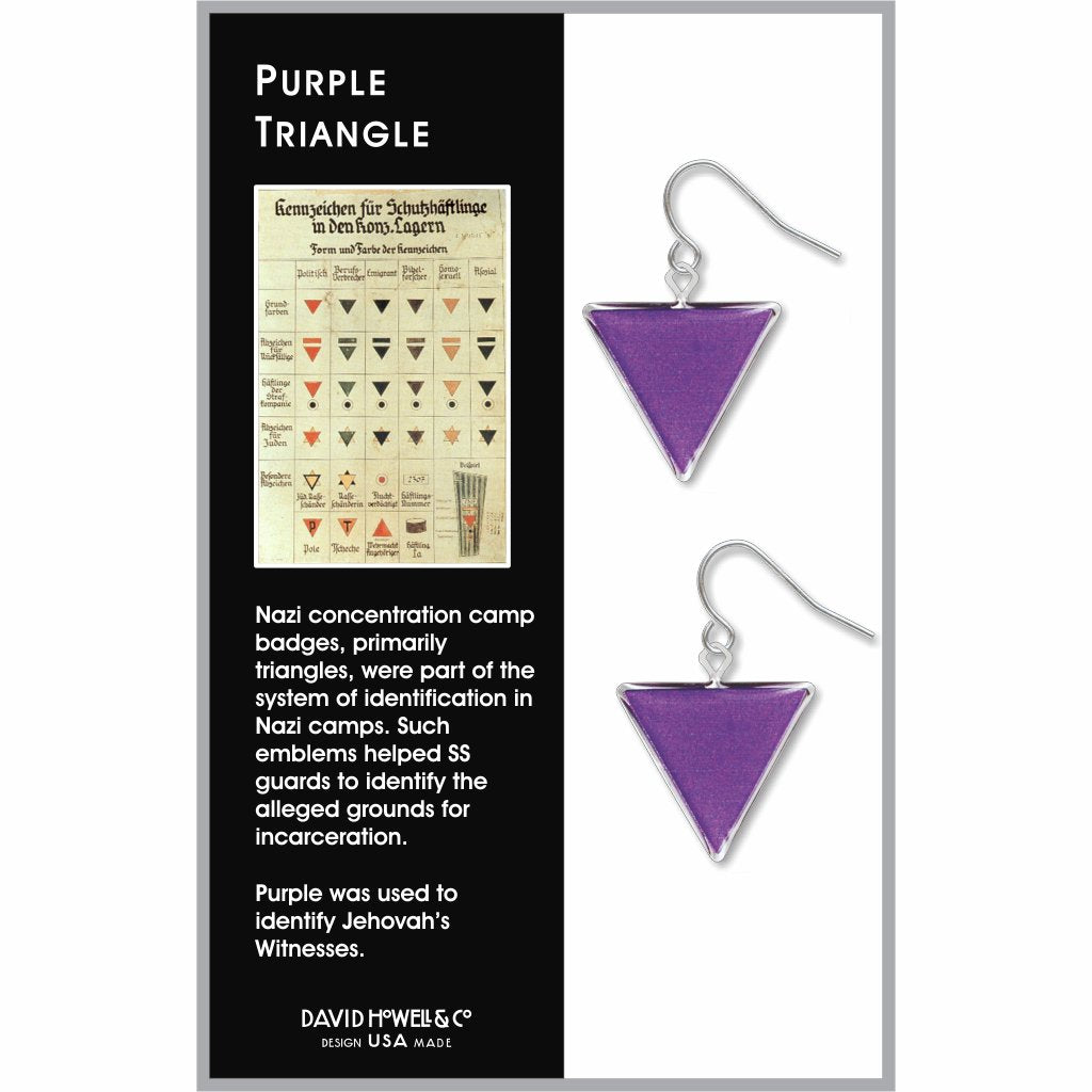 purple-triangle-giclee-print-domed-earrings-photo-2