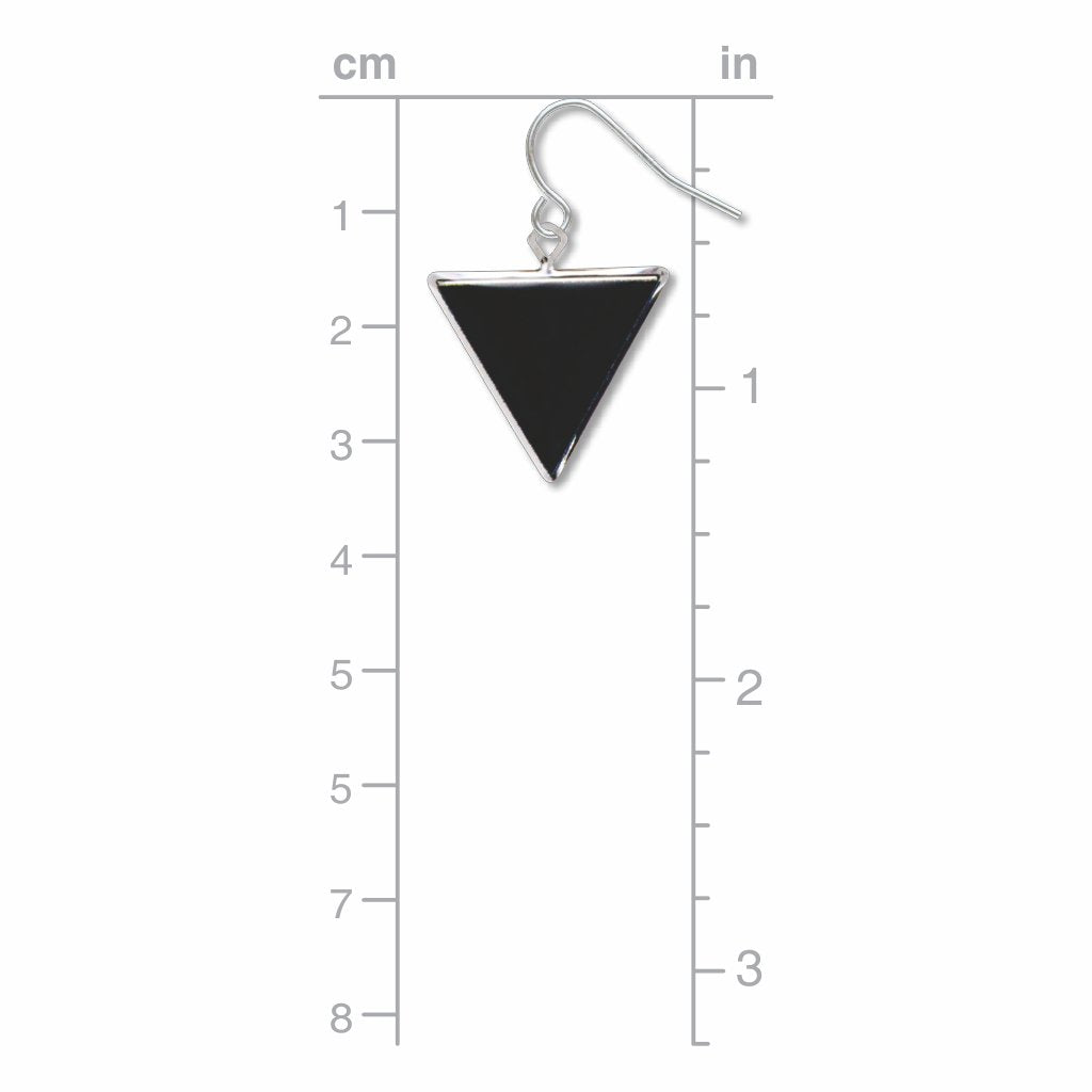 black-triangle-giclee-print-domed-earrings-photo-3