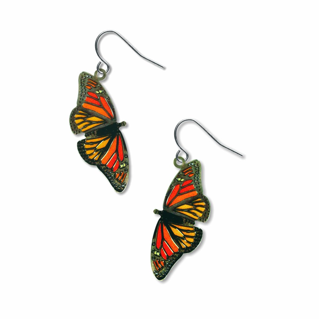 monarchs-giclee-print-earrings-photo