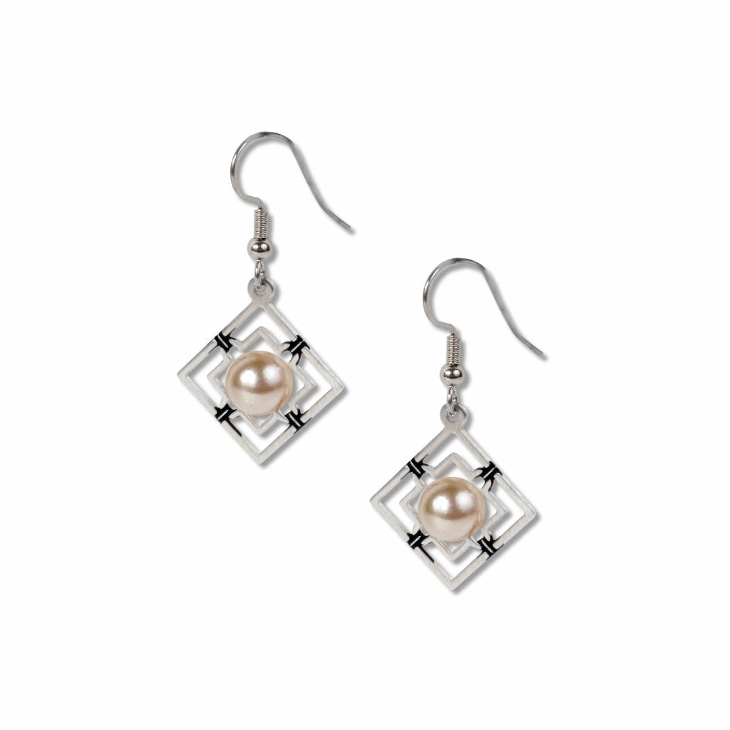 wrought-iron-creme-faux-pearl-black-accent-earrings-photo