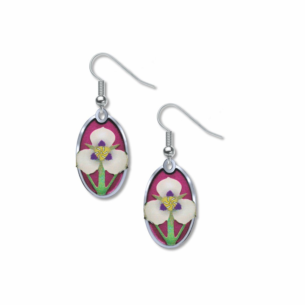sego-lily-giclee-print-violet-accent-earrings-photo