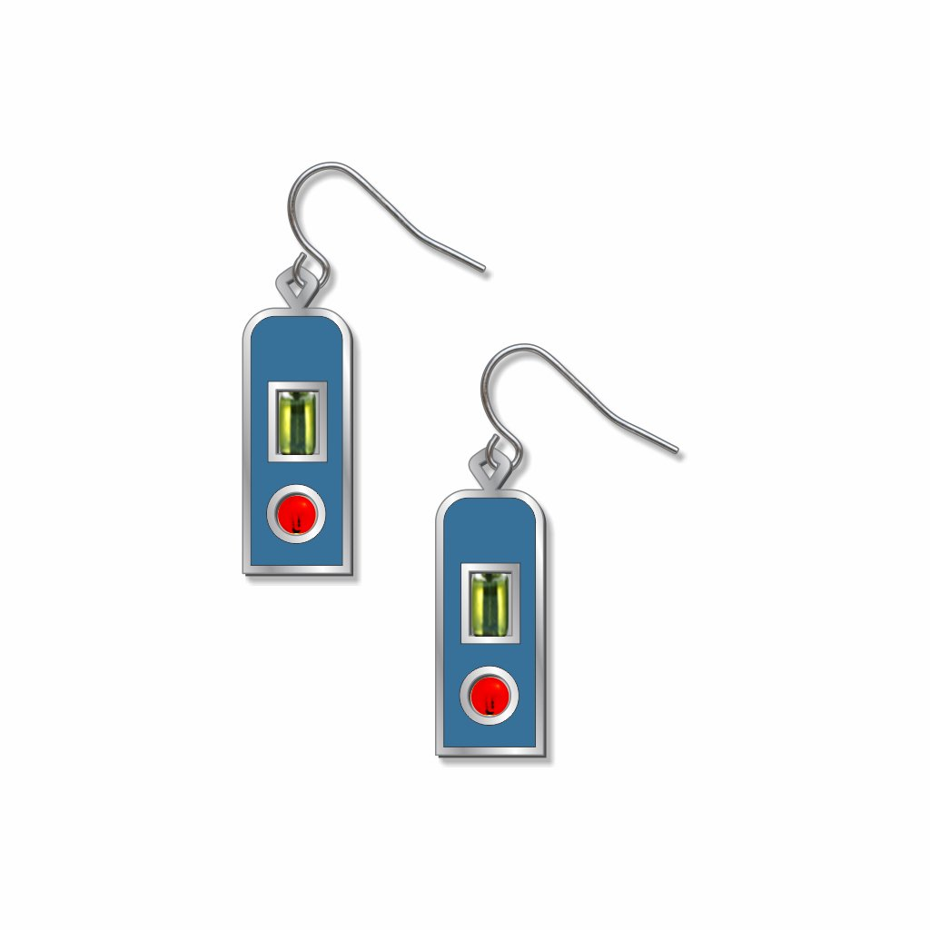 love-transformed-light-green-and-orange-beads-blue-accent-earrings-photo