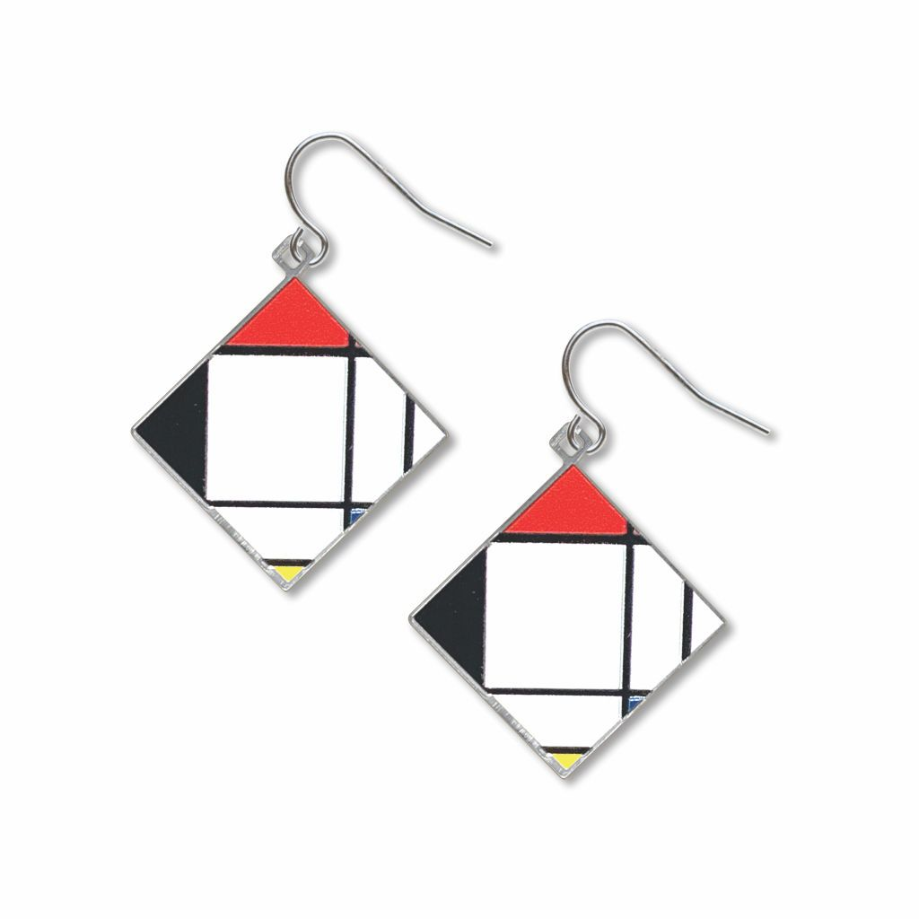 mondrian-lozenge-giclee-print-earrings-photo