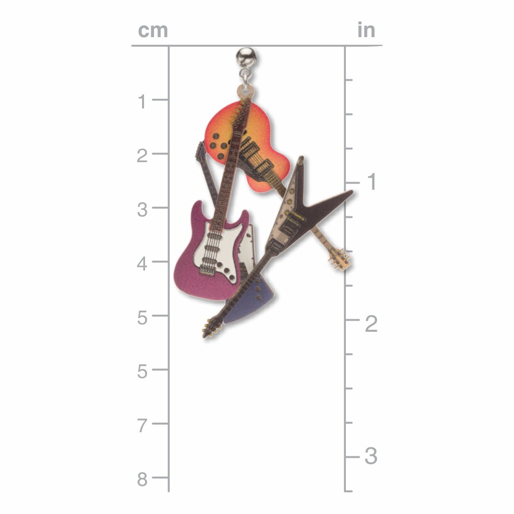 guitars-giclee-print-earrings-photo-3