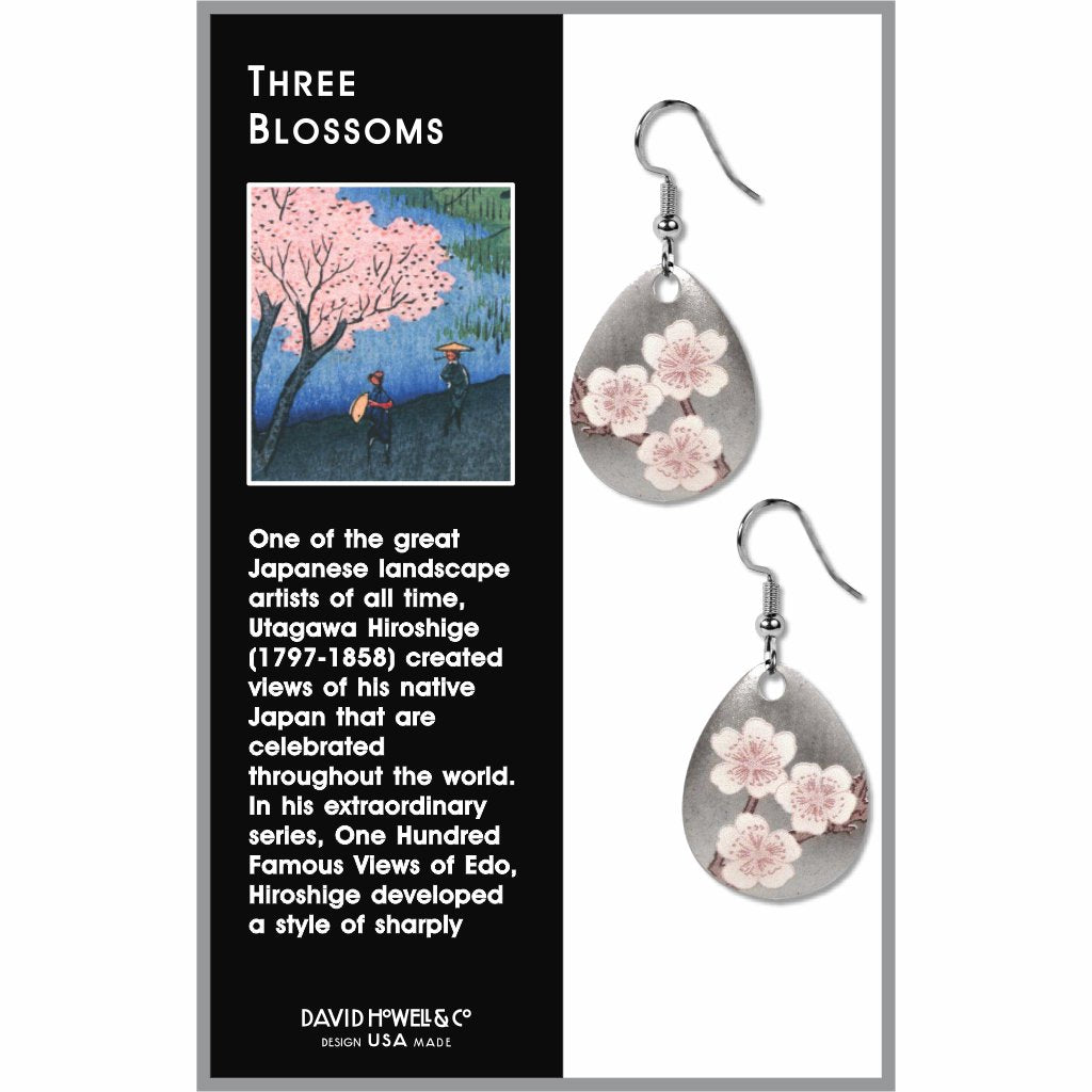 three-blossom-giclee-print-faux-gilt-earrings-photo-2