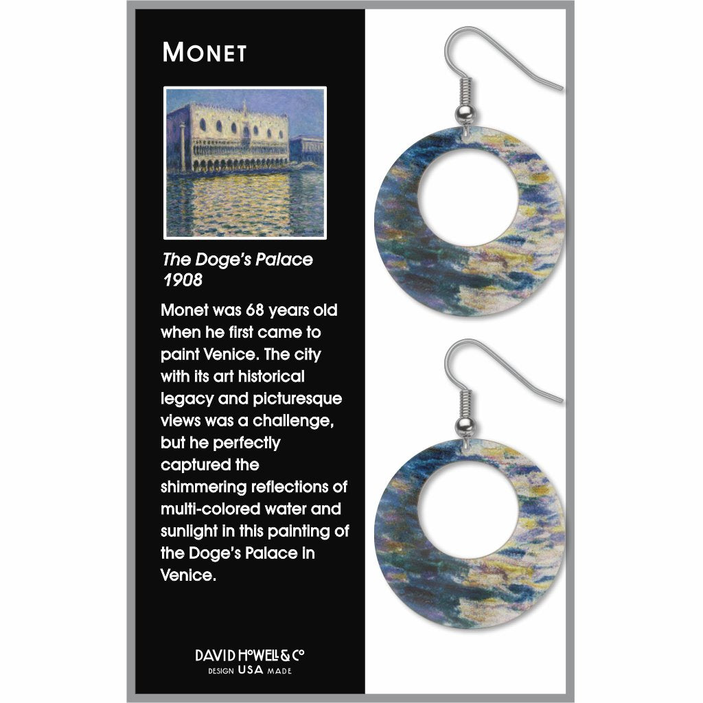monet-doges-palace-giclee-print-earrings-photo-2