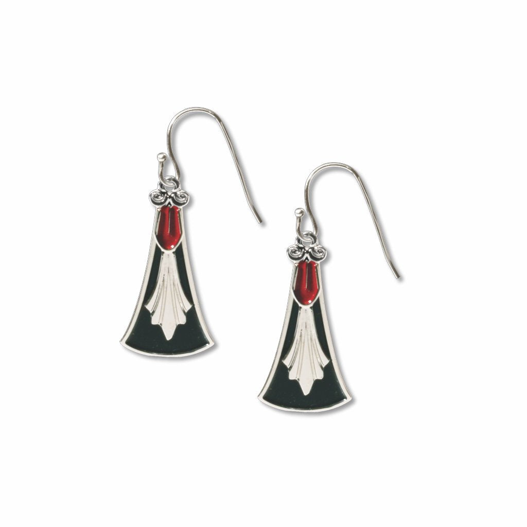 italian-chandelier-red-enamel-black-enamel-earrings-photo