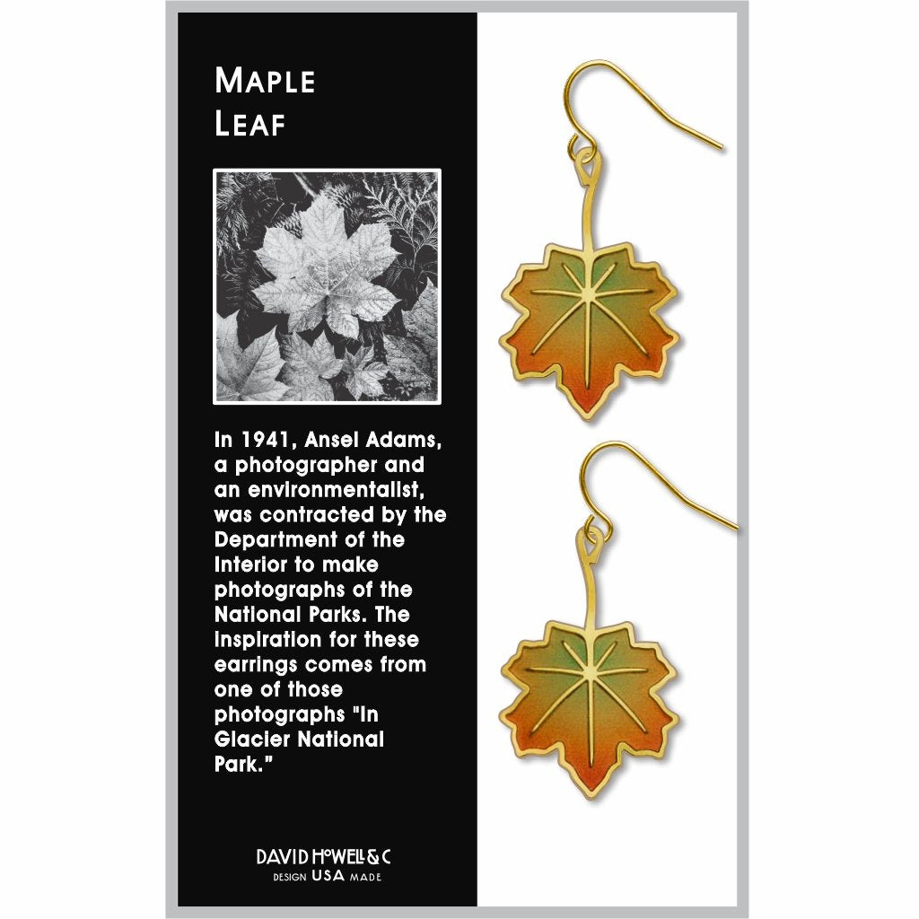maple-leaf-giclee-print-earrings-photo-2