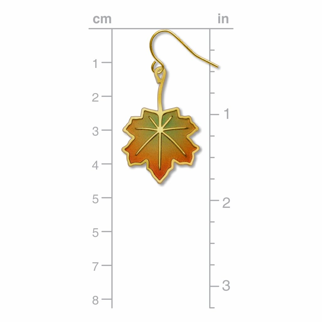 maple-leaf-giclee-print-earrings-photo-3