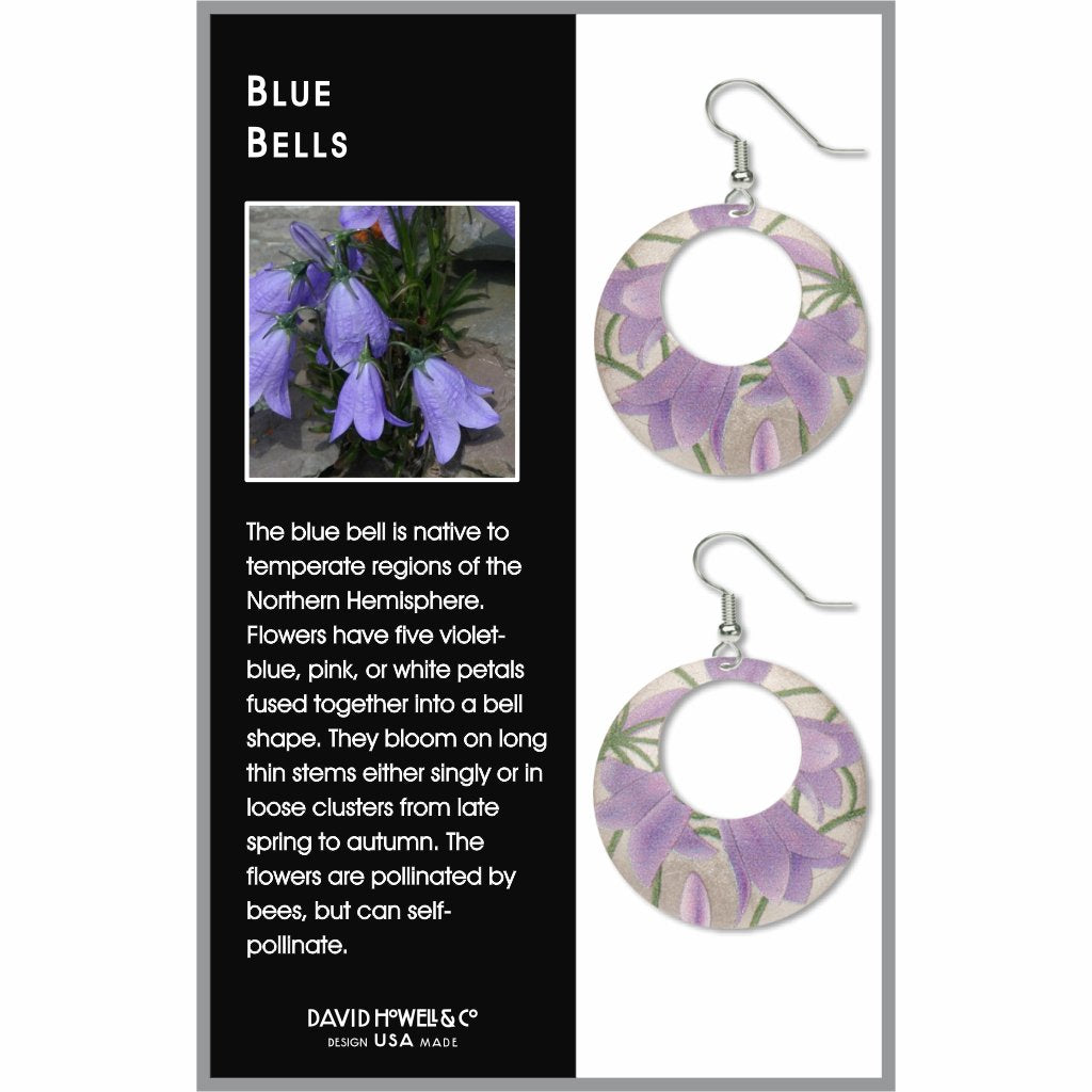 blue-bells-giclee-print-faux-gilt-earrings-photo-2