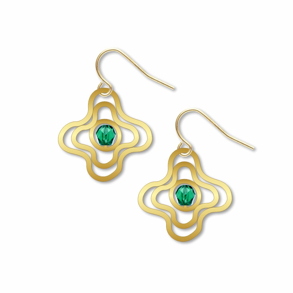 soul-disk-green-bead-earrings-photo