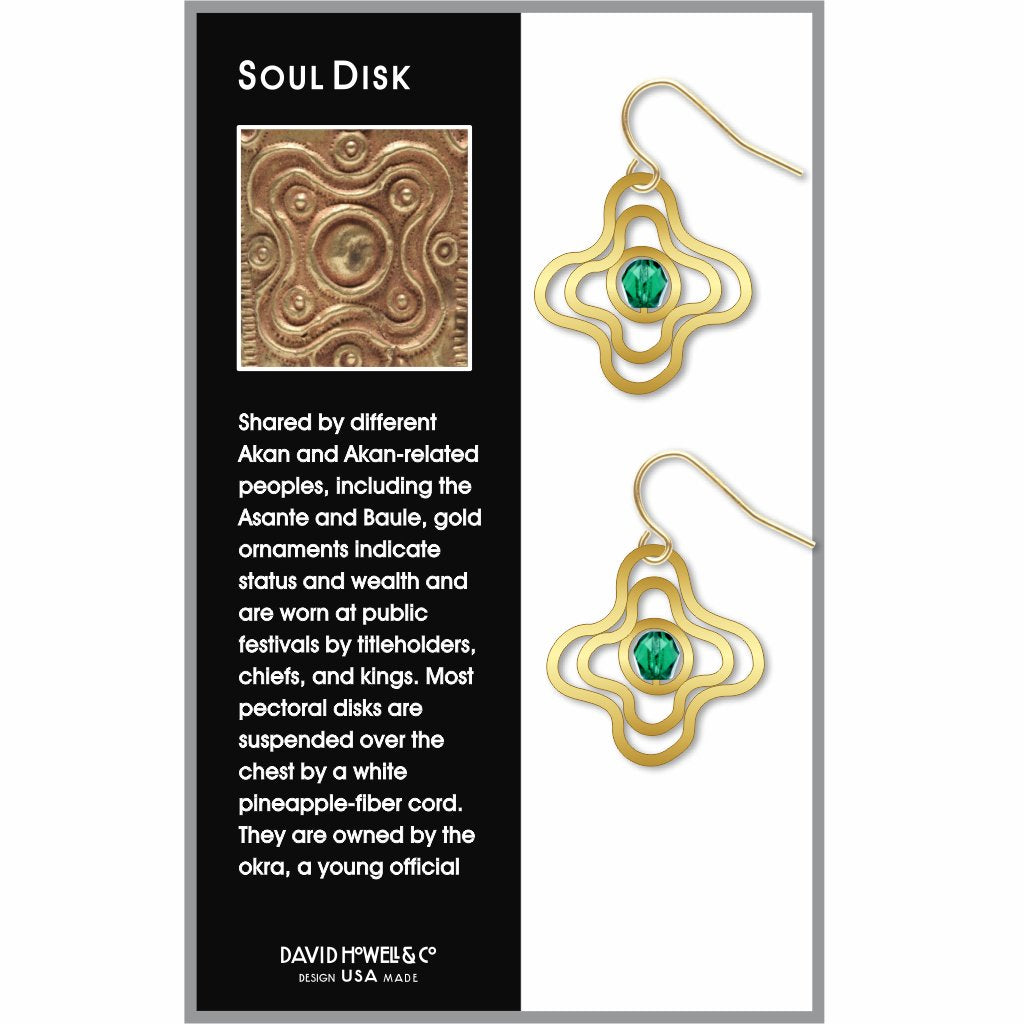 soul-disk-green-bead-earrings-photo-2