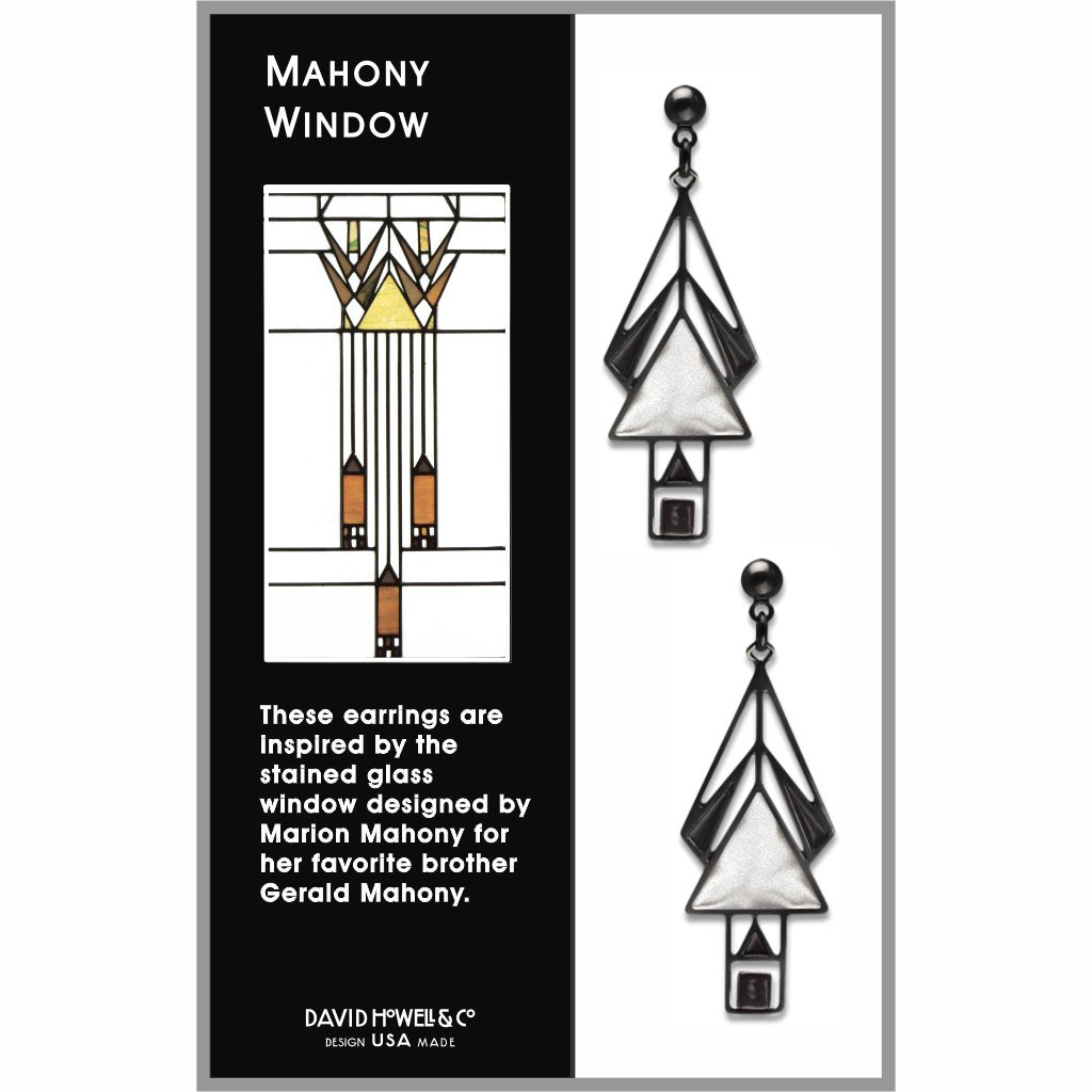 mahony-window-black-bead-chrome-enamel-black-accent-earrings-photo-2