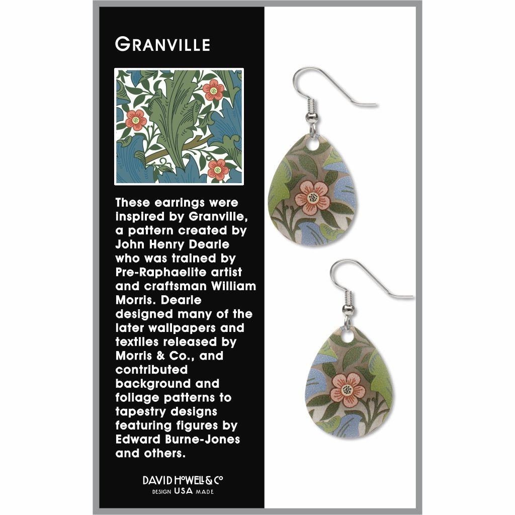 william-morris-granville-giclee-print-domed-earrings-photo-2