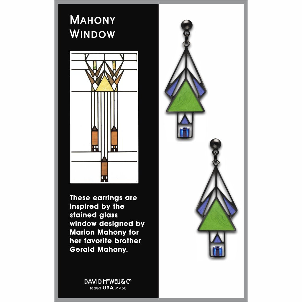 mahony-window-sapphire-bead-spring-green-enamel-royal-blue-accent-earrings-photo-2