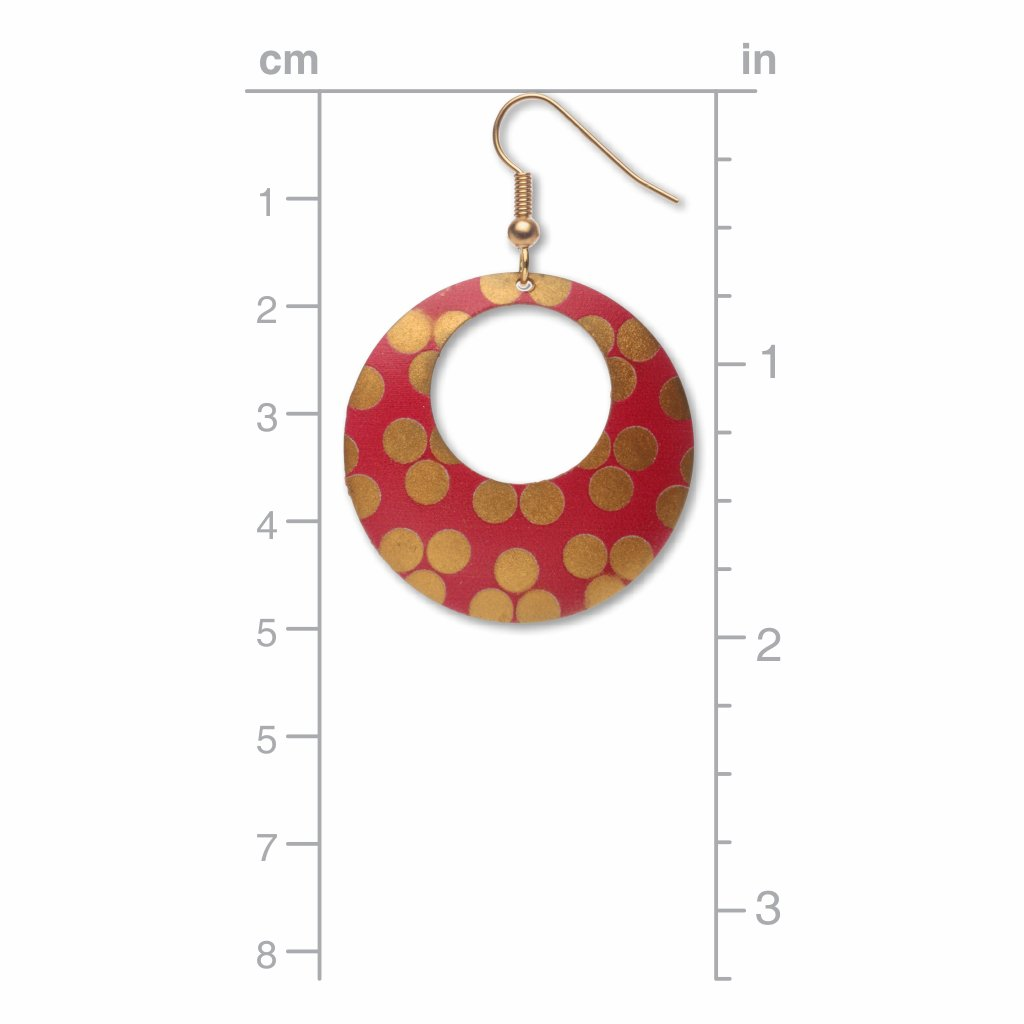 princely-pattern-giclee-print-faux-gilt-earrings-photo-3