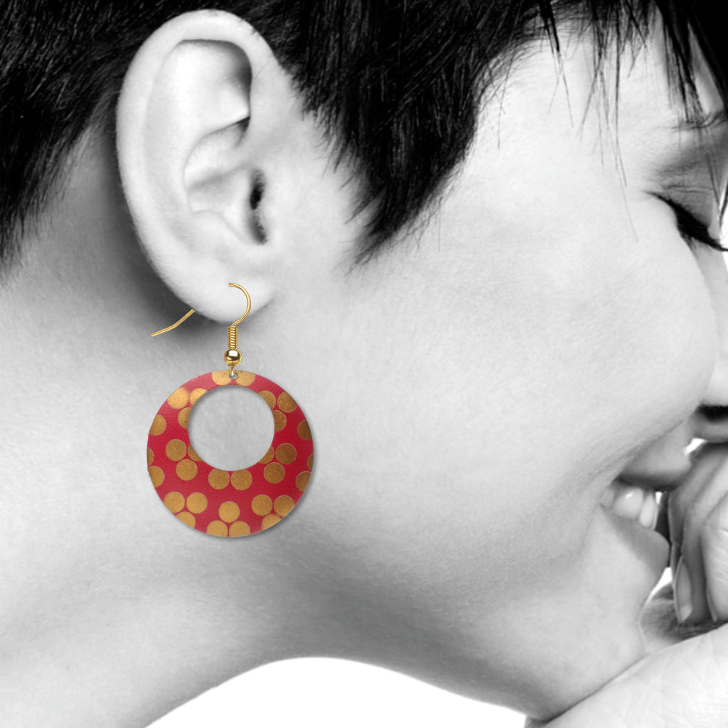 Princely Pattern Ottoman Design Earrings