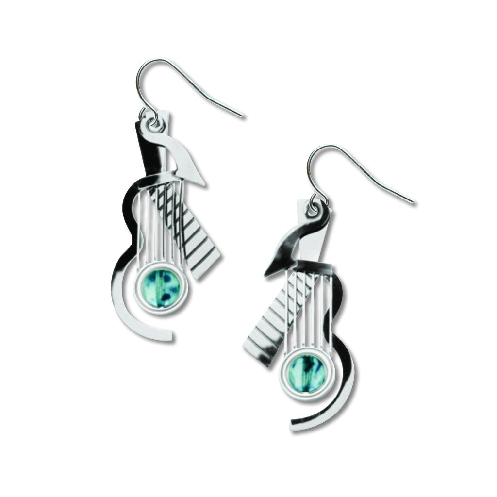 cubist-guitar-slate-blue-bead---earrings-photo