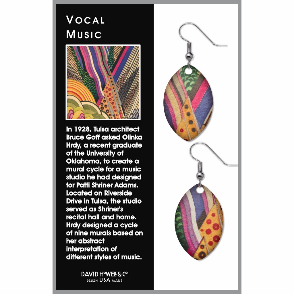 vocal-music-giclee-print-earrings-photo-2