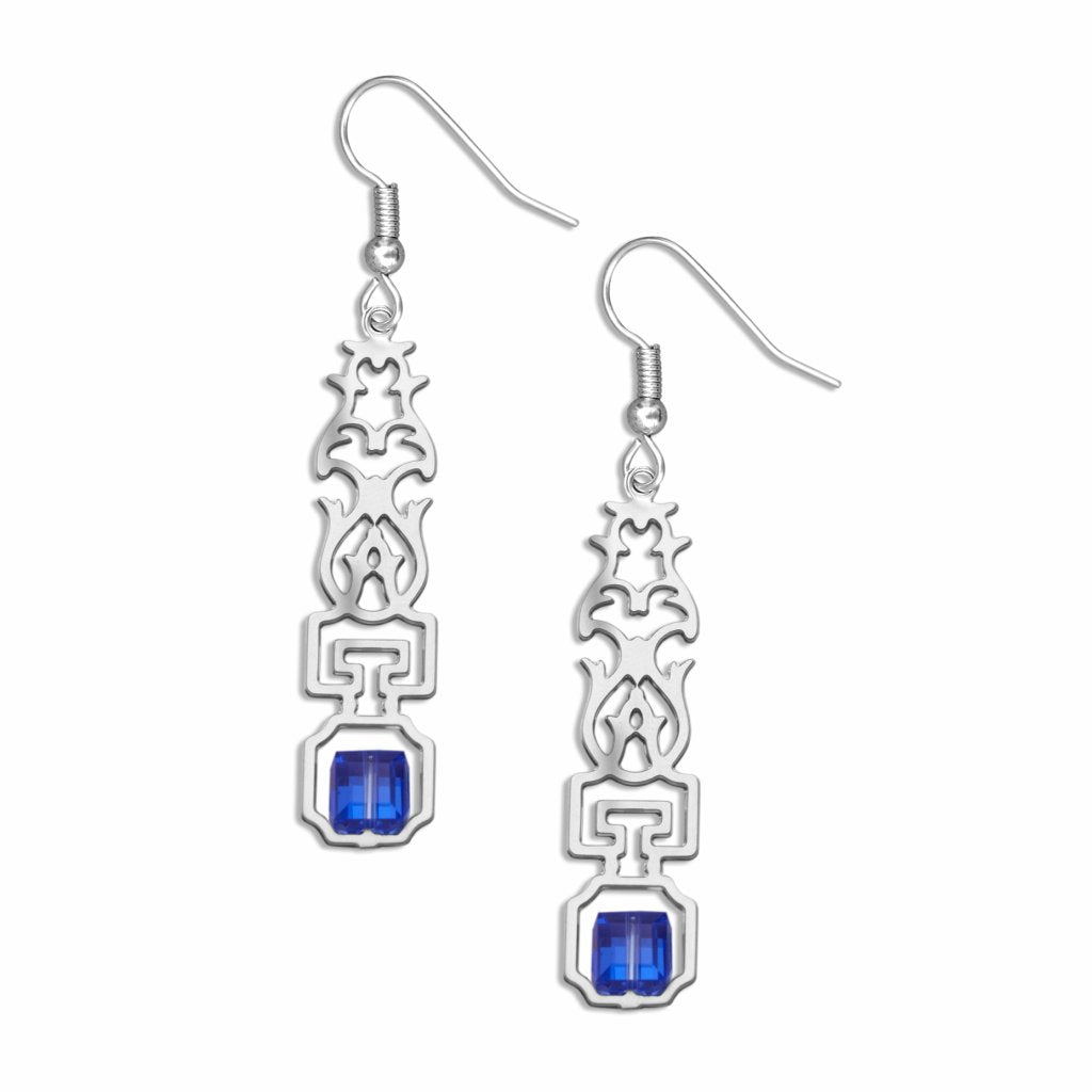 escutcheon-sapphire-crystal-earrings-photo