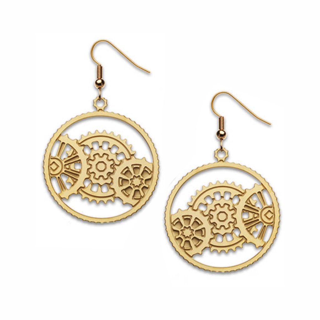 meshing-gear-gold-earrings-photo