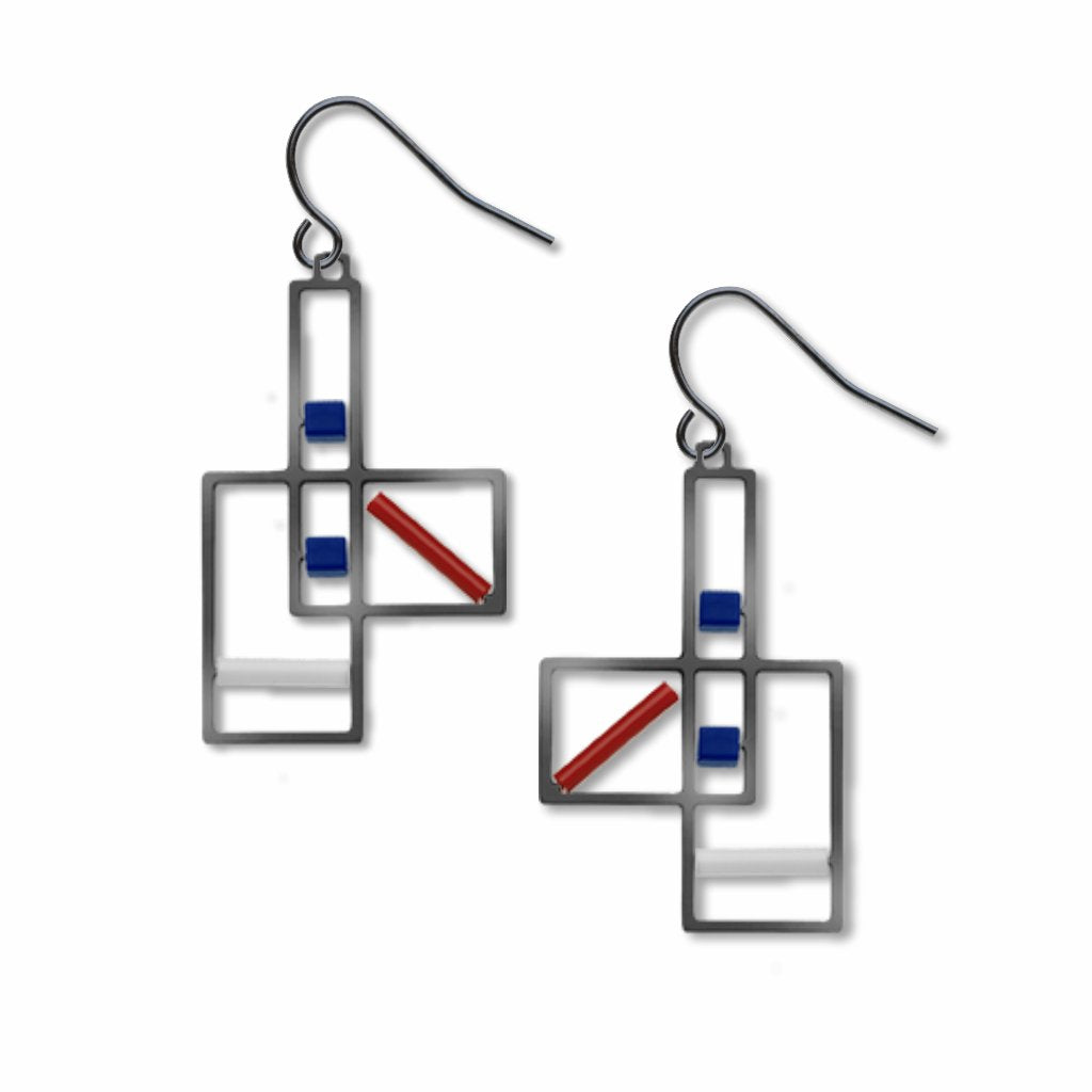 cote-de-provence-blue-accents-white-accent-red-accent-earrings-photo