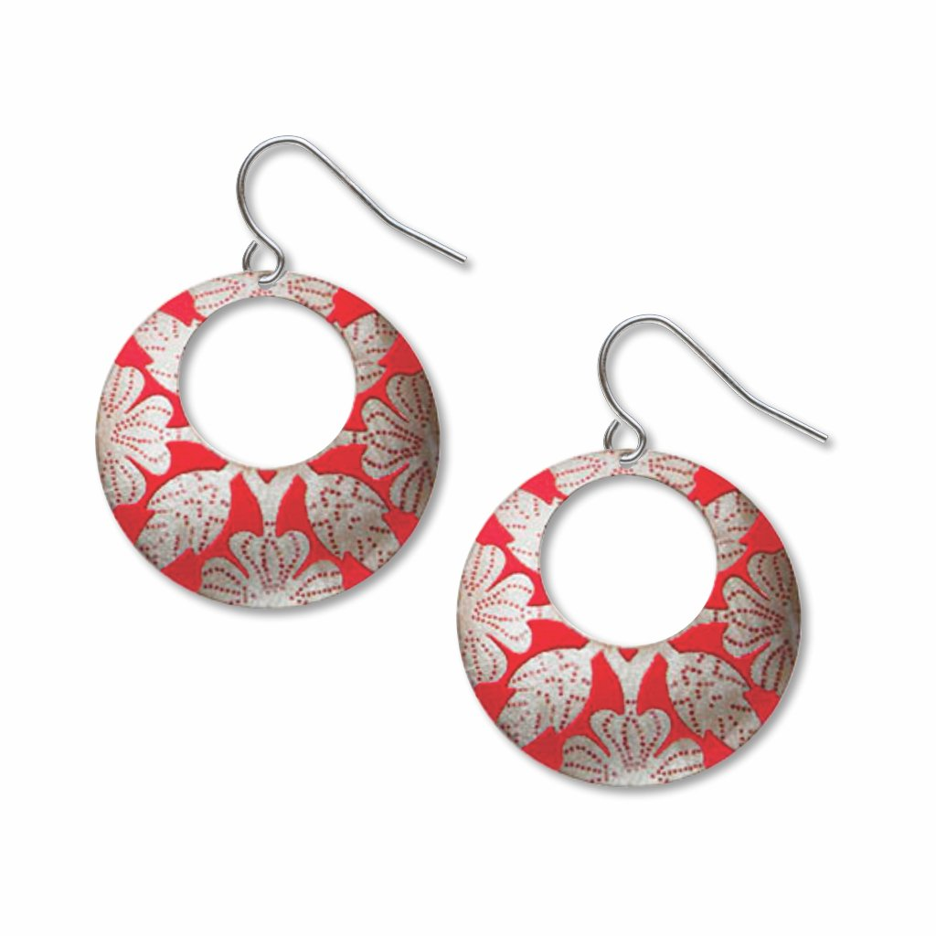 red-hibiscus-giclee-print-faux-gilt-earrings-photo