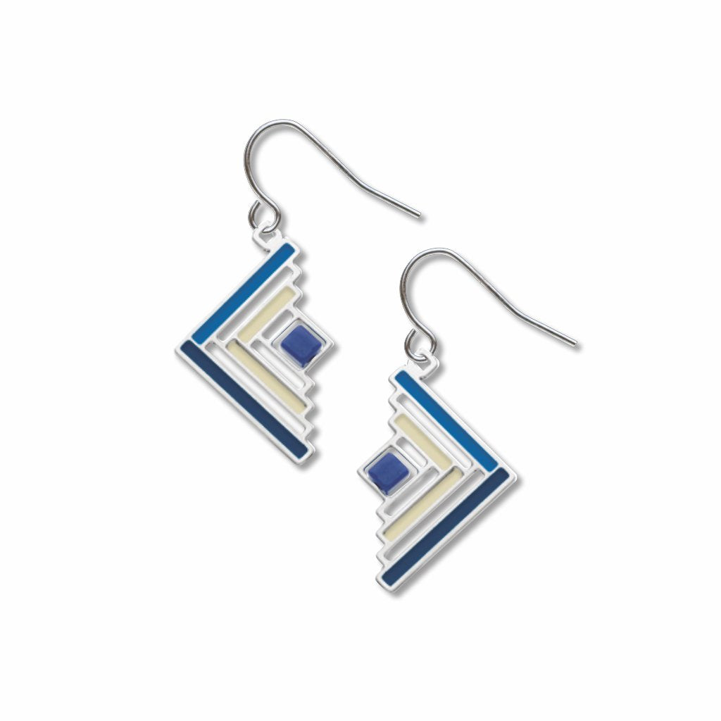 log-cabin-quilt-pattern-cobalt-blue-bead-blue-accent--light-grey-accent-earrings-photo
