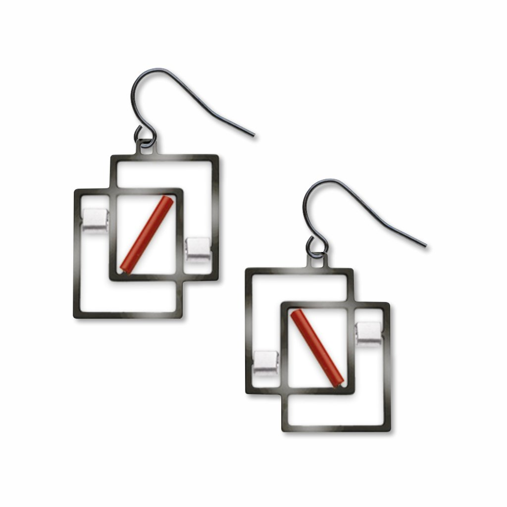 cote-de-provence-silver-accents-red-accent-earrings-photo