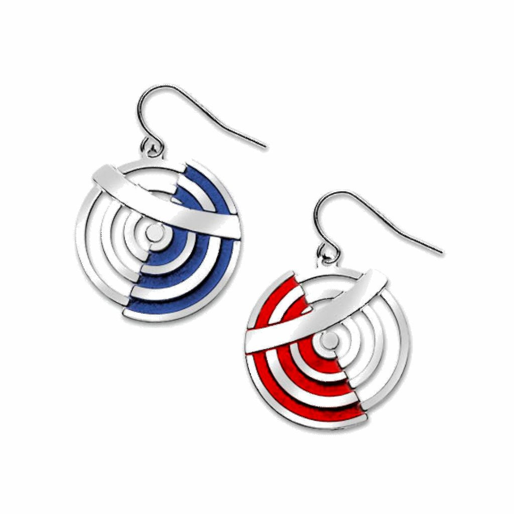 delaunay-circles-red-enamel-blue-enamel-earrings-photo