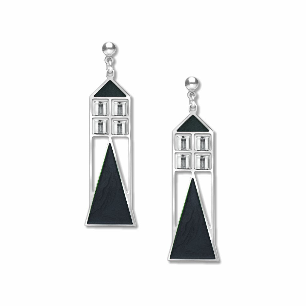 babson-window-crystal-bead-black-enamel-earrings-photo