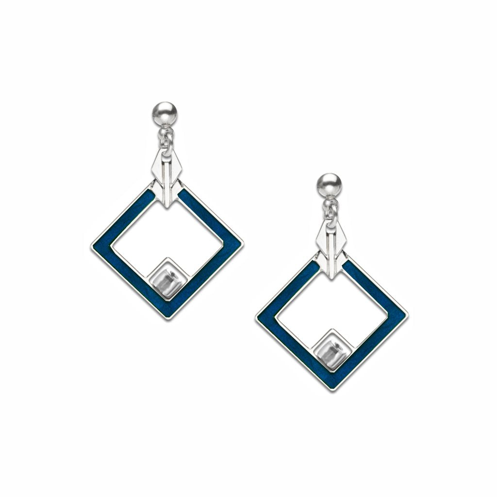 may-house-rug-detail-crystal-bead-navy-enamel-earrings-photo