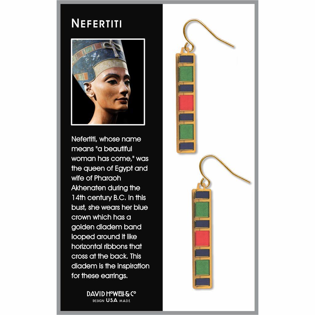 nefertiti-giclee-print-domed-earrings-photo-2
